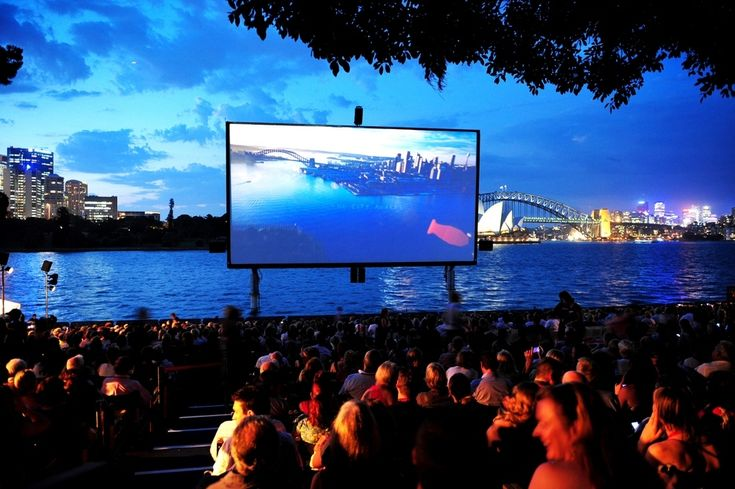 I can definitly see myself spending a Summer night here - St George Open Air Cinema, Sydney