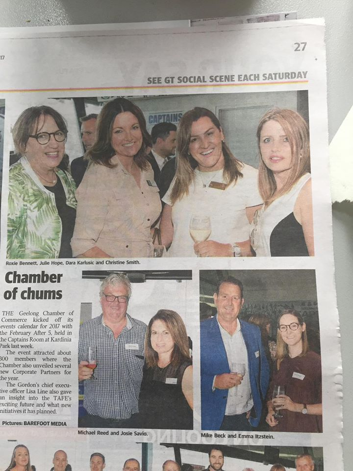 Another fabulous networking event with @geelongchamber
