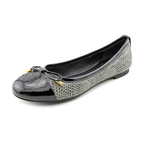 Tory Burch Verbena Womens Size 7 Gray Animal Print Leather Flats Shoes Tory  Burch http: