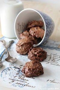 Biscottoni rustici alla quinoa, cacao e cannella
