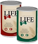 Life 4K9 comes in 13 oz. cans in addition to bags