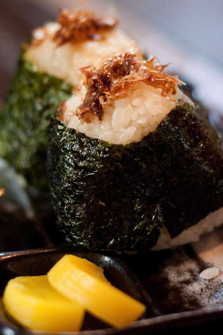 Here's A Recipe for Okaka Onigiri Rice Balls You Can Try At Home