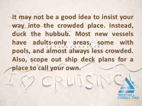 Improve your Cruising Experience