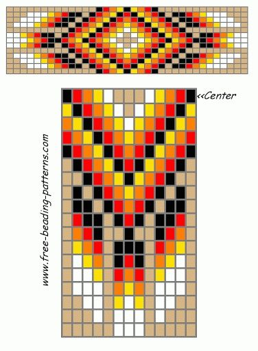 Free Native American Beadwork Designs | Native American Beadwork | Pinterest