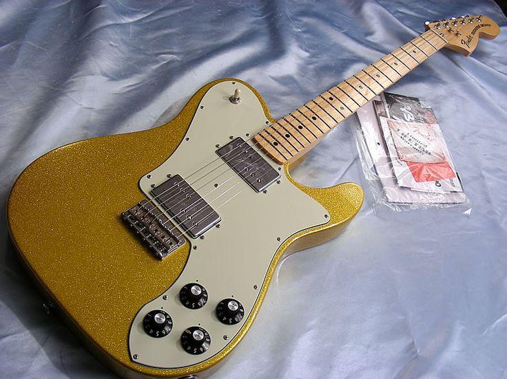 2012 Fender Telecaster Deluxe 72 Reissue FSR in Vegas Gold.jpg