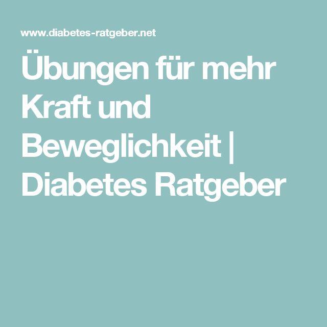 Übungen für mehr Kraft und Beweglichkeit | Diabetes Ratgeber