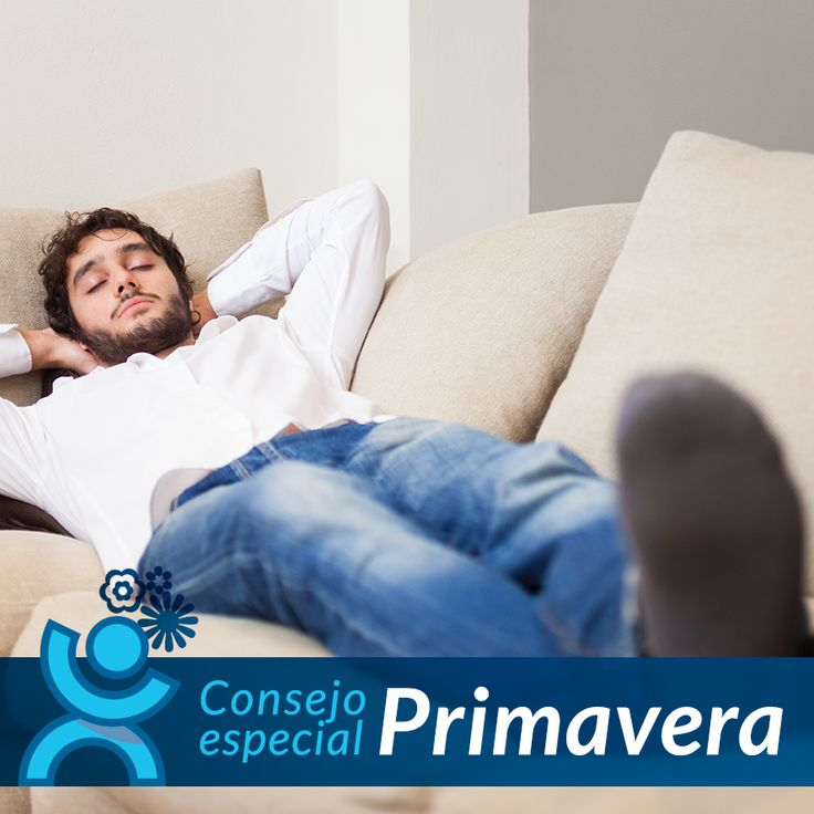Parte de la población se ve afectada en esta época por la #AsteniaPrimaveral, provocándonos cansancio y desánimo. Te recomendamos que realices alguna actividad física y que lleves una dieta saludable, que te ayudará  a tener mejor tú humor y un buen descanso nocturno.