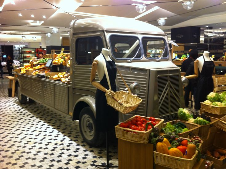 58 best images about merchandising ideas on pinterest produce displays visual merchandising - La grande epicerie de paris ...
