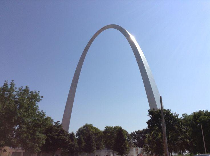 Gateway Arch at the Jefferson National Expansion Memorial St. Louis, Missouri