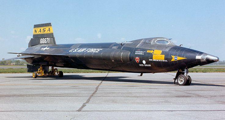 x-15 | North American X-15 A-2: Experimentalflugzeug mit Raketenantrieb f ...