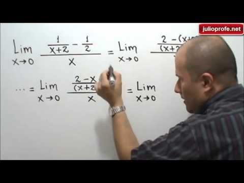 Limite de una función: Julio Rios explica cómo resolver el límite de una función algebraica