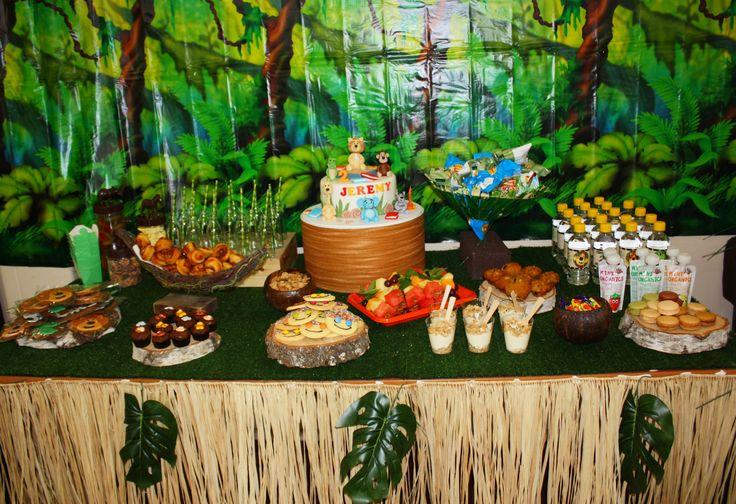 Jingly Jangly Raa Raa the lion jungle party. #2ndbirthday #raa raa