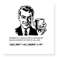 SUNSHINE IN A CUP Sticker #Fun #Xanax #Alcohol