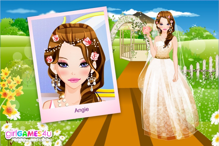 http://www.girlgames4u.com/make-me-a-bride-game.html    Gorgeous bride for an unforgettable wedding <3    Game: Make Me a Bride    <3 GirlGames4u