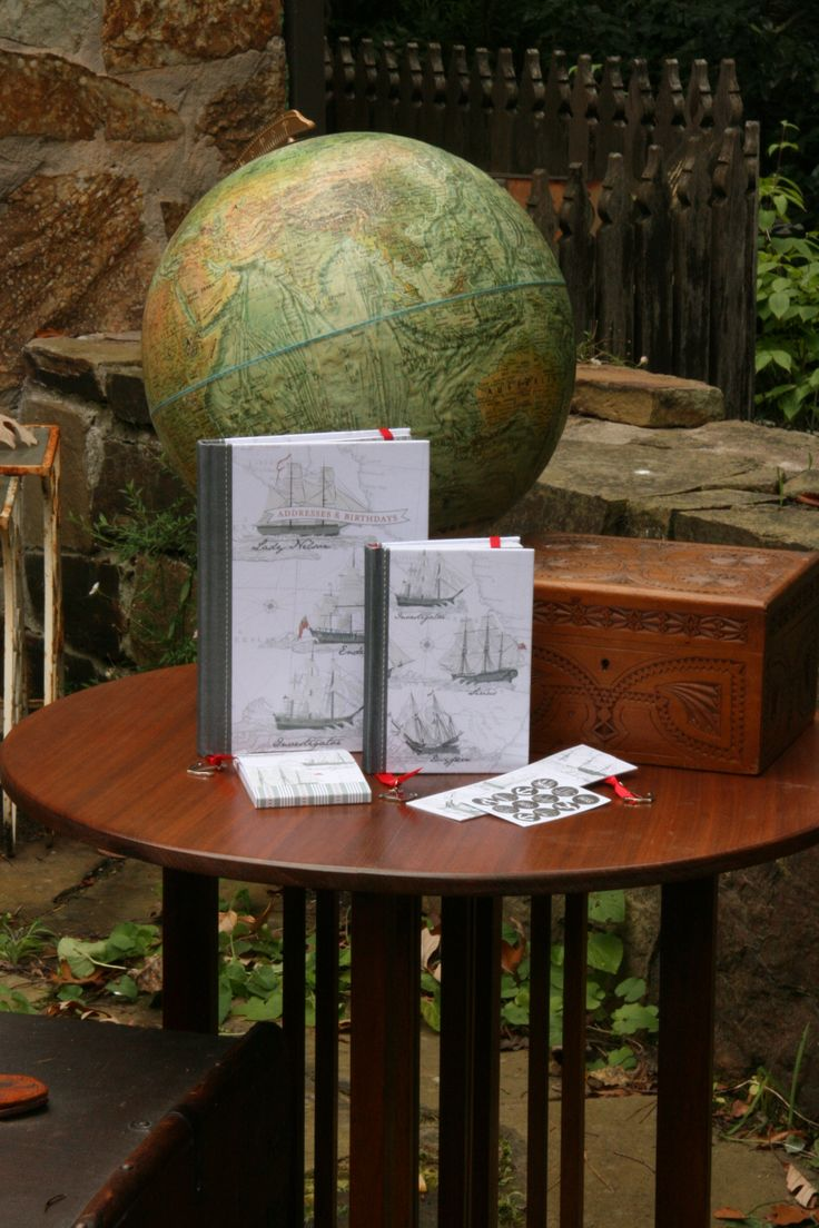Certified recycled Maritime stationery - Address Book, A6 Journal, Mini Memo pad and Bookmark #climatefriendly #gifts #stationery