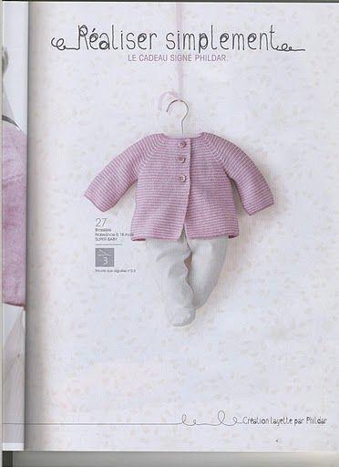 Phildar naissance n 25 - Nathalie Calvarin - Picasa Albums Web