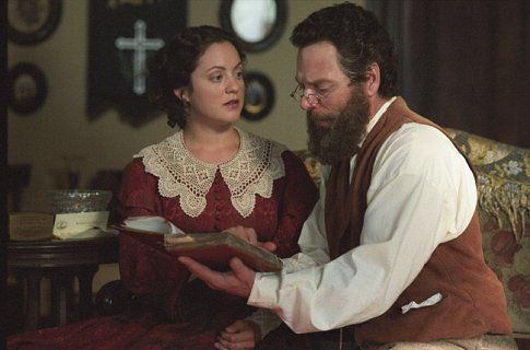 Still of Stephen Lang and Kali Rocha in Gods and Generals