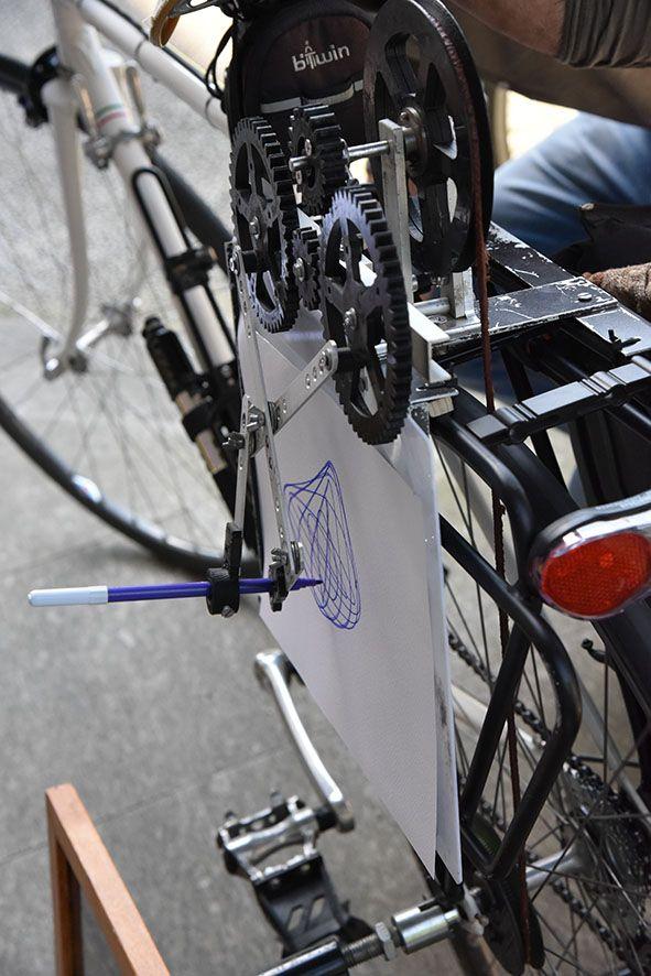 #Favini #Evento 28 maggio - In Cartiera con mamma e papà - Al termine della visita le famiglie dei dipendenti hanno incontrato un ospite a sorpresa: Claudio Busatto, il ciclista-artista che disegna su carta #Favini grazie a speciale bicicletta.  #InCartiera https://twitter.com/favini_it/status/736469971635671040
