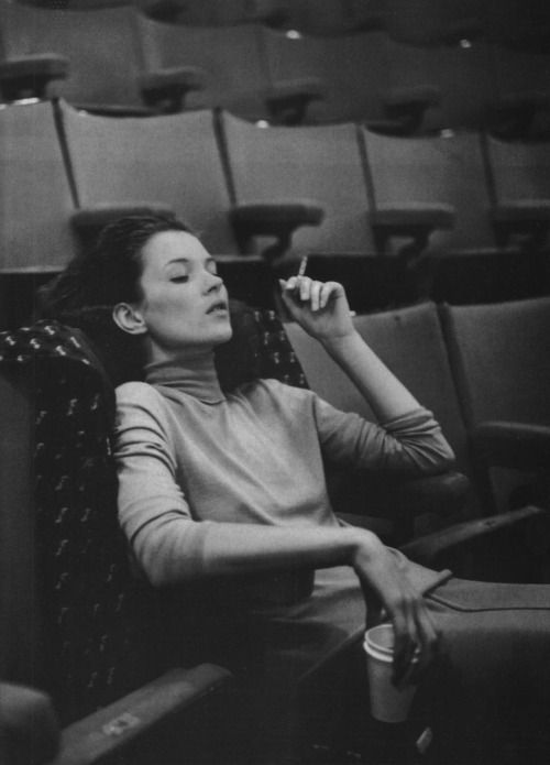 A life in the theatre, Kate Moss by Bruce Weber, 1990s
