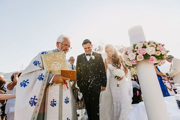 Chic vintage wedding in Crete | Sofia & Chris