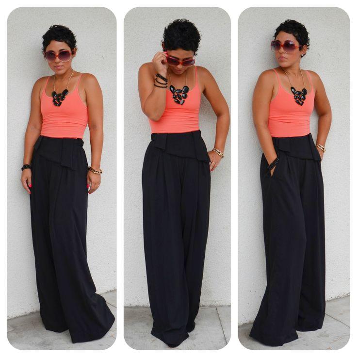 high waisted dress pants for women | mimi g.: Super Bad DIY Pants + Pattern Review Burda 7195