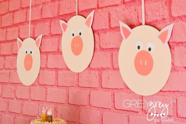 "Photo 45 of 46: Three Little Pigs / Birthday ""Avery's Three Little Pigs Party"" 