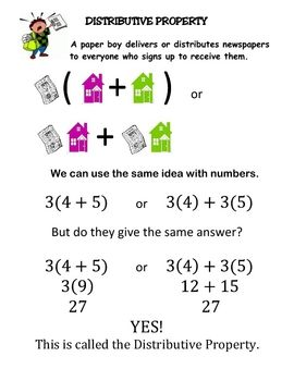 Printables Distributive Property Worksheets 6th Grade 1000 ideas about distributive property on pinterest of multiplication properties and math