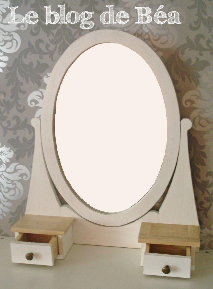les 25 meilleures id es de la cat gorie miroir coiffeuse sur pinterest meuble coiffeuse avec. Black Bedroom Furniture Sets. Home Design Ideas