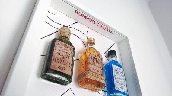 Farmacéuticos - Romper en caso de emergencia Caja con ungüentos y medicamentos antiguos. Perfecto para regalar a farmacéuticos