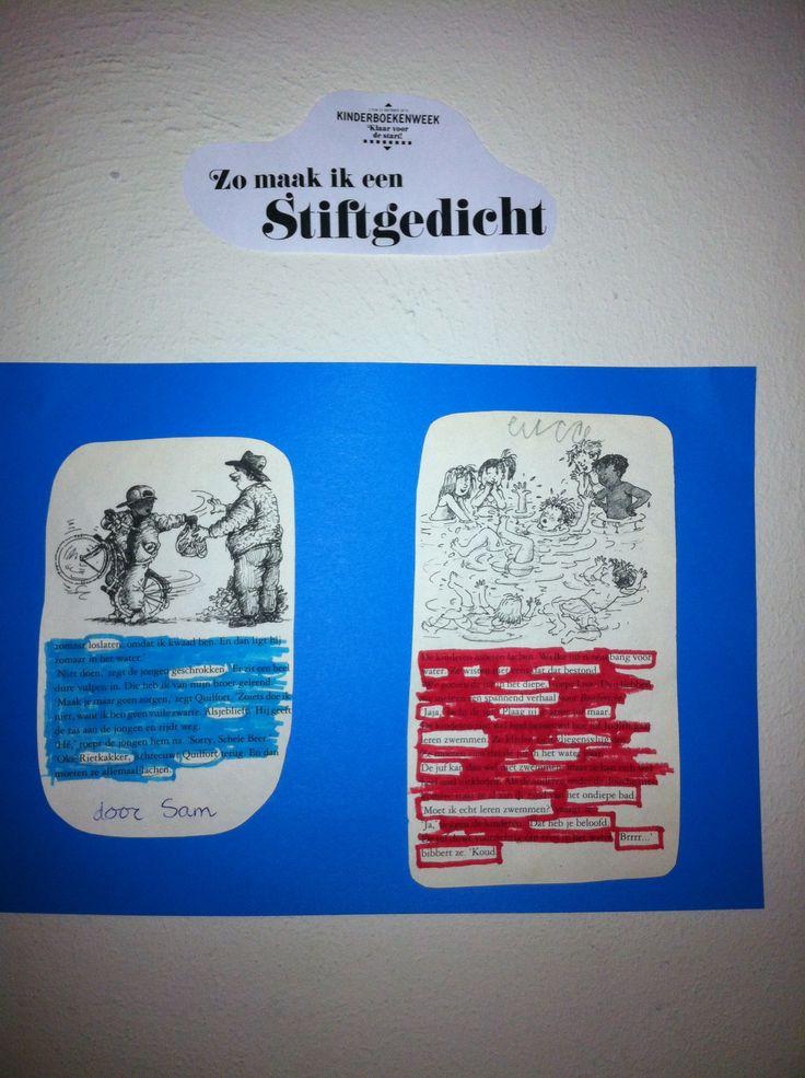 Stiftgedicht # http://www.kinderboekenweek.nl/school/groep7-8.html#3
