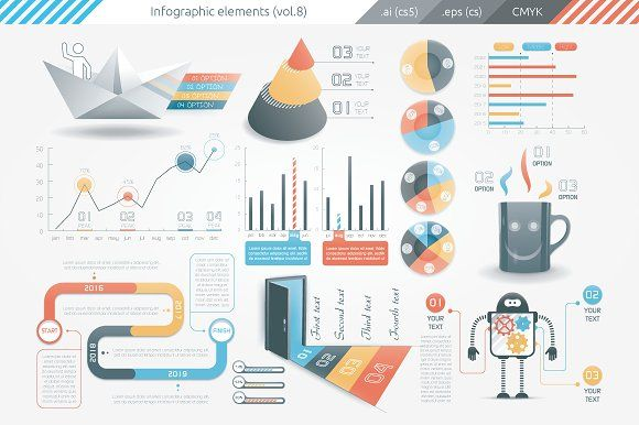 @newkoko2020 Infographic Elements (v8) by Infographic Paradise on @creativemarket #infographic #infographics #bundle #download #design #template #set #presentation #vector #buy #graph #discount