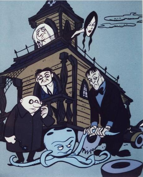 Addams Family.  Saturday morning cartoons!