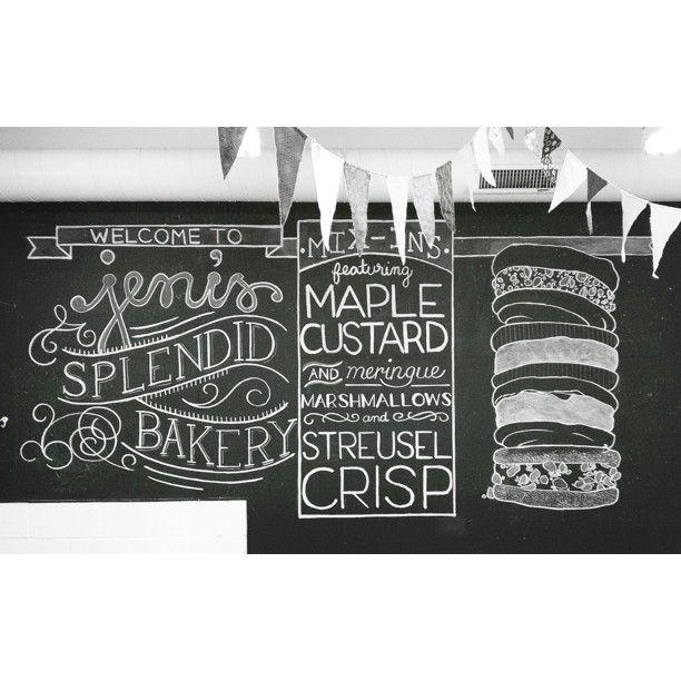 Jeni's Splendid Bakery - Chalkboard - Jeni's Splendid Ice Creams - Photo by  kelseyemc