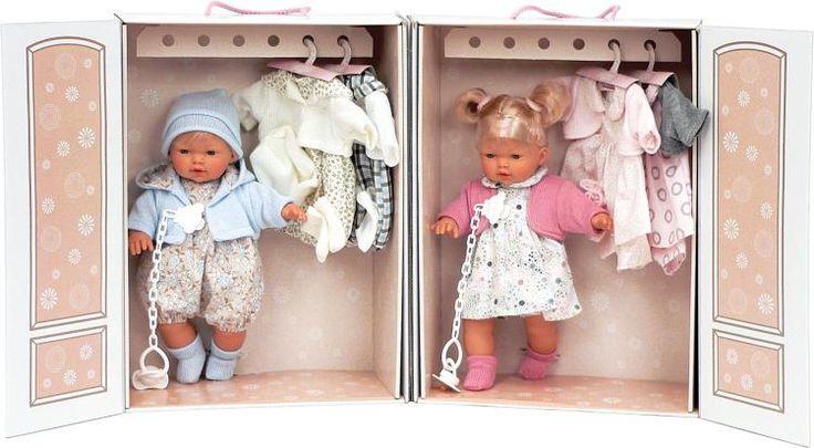 bambole armadio vintage