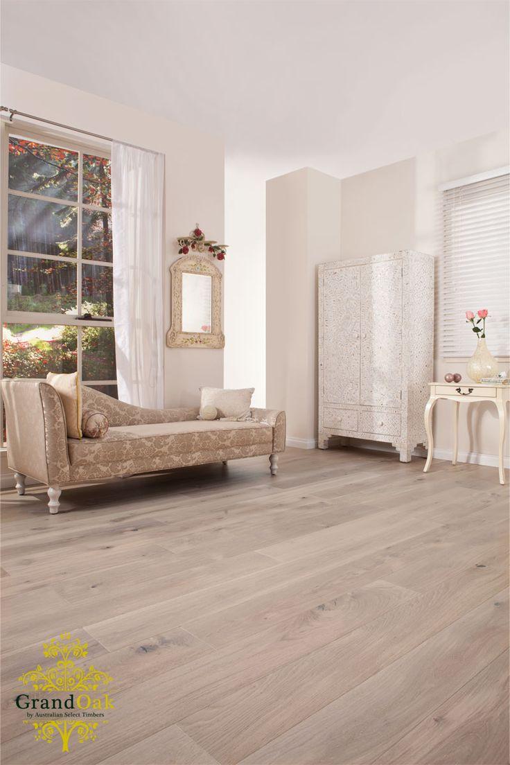 Grand Oak Timber Flooring: Limed Oak House Show