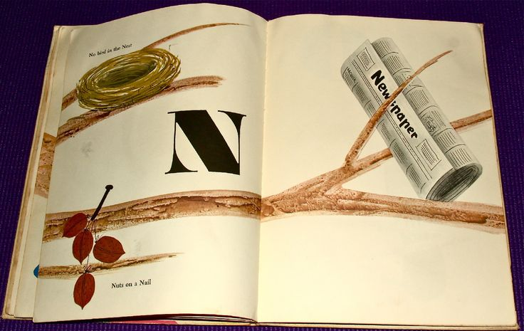Bruno Munari's ABC, First Edition and Chronicle Books Edition - Fonts In Use