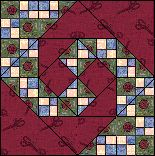 168 best Quilts - Churn Dash/Monkey Wrench/Snail Trail/Shoo Fly ... : monkey wrench quilt pattern - Adamdwight.com