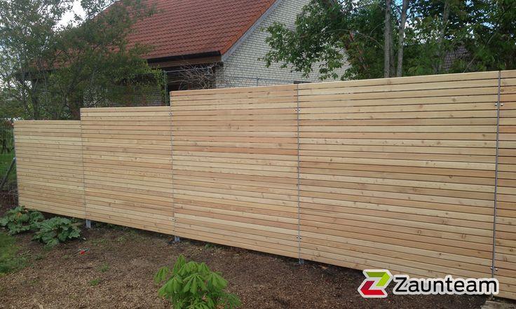 Zaun und Tor Referenzen von Zaunteam - Holz-Sichtschutzzaun, 88422 Kanzach - Zaunteam
