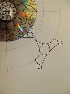 CD Mandalas @Jessica Smith