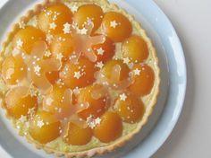 Feestelijke abrikozenvlaai, recept