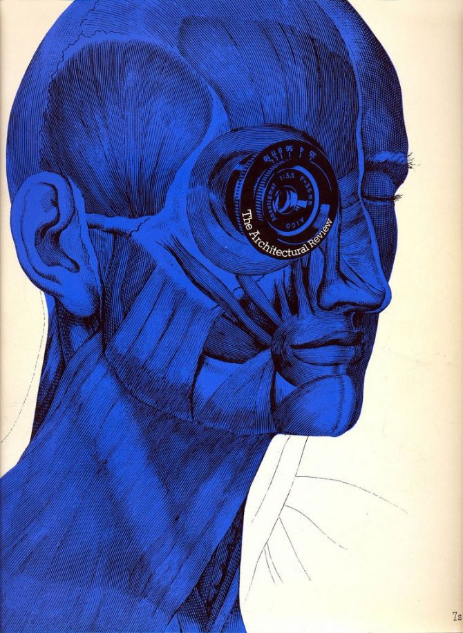 The Architectural Review, Man Plan 2, 1969 - #anatomy #cool #illustration