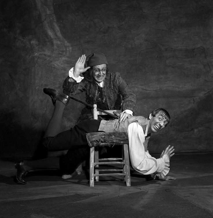 """Paolo Montarsolo & Paolo Pedani - """"Lo frate 'nnamorato"""" 1960 http://www.archiviolascala.org/"""