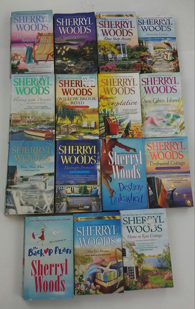 Sherryl Woods Books 15 Midnight Promises TEMPTATION Amazing Grace WILLOW