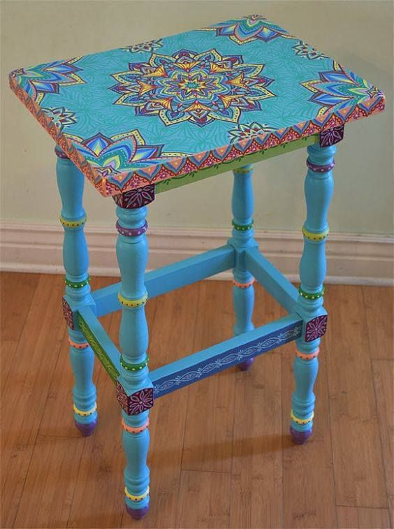 Ahhh Turquoise My Favorite Boho Decor Painted