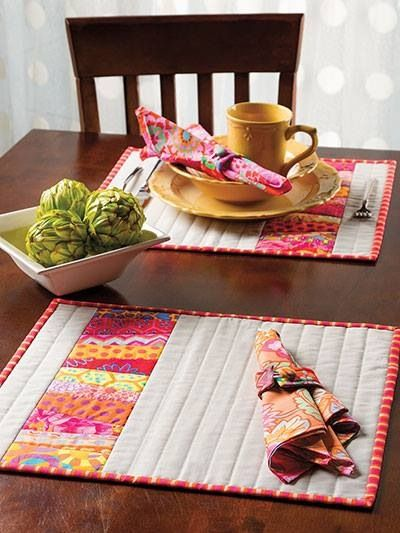 1139 best images about tablerunners placemats hotpads for Kitchen quilting ideas