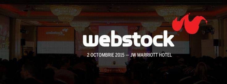 Ce mai fac - sunt blogger acreditat la Webstock 2015