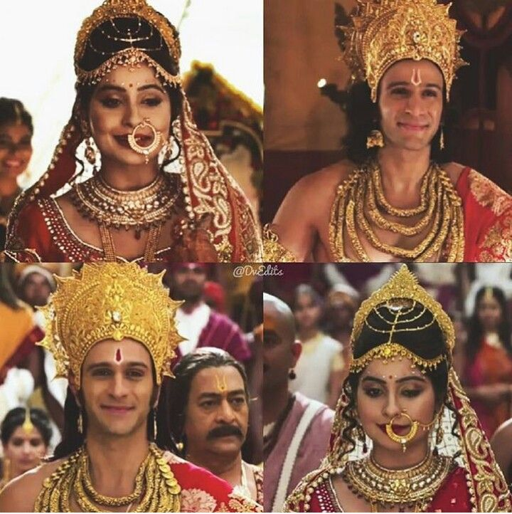 Lakshman and Urmila - For more Siya Ke Ram pins follow: @meghnaprasad4