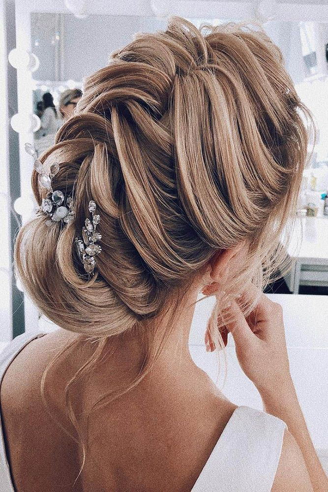 30 Wedding Hairstyles 2019 Ideas Hair For Wedding Pinterest