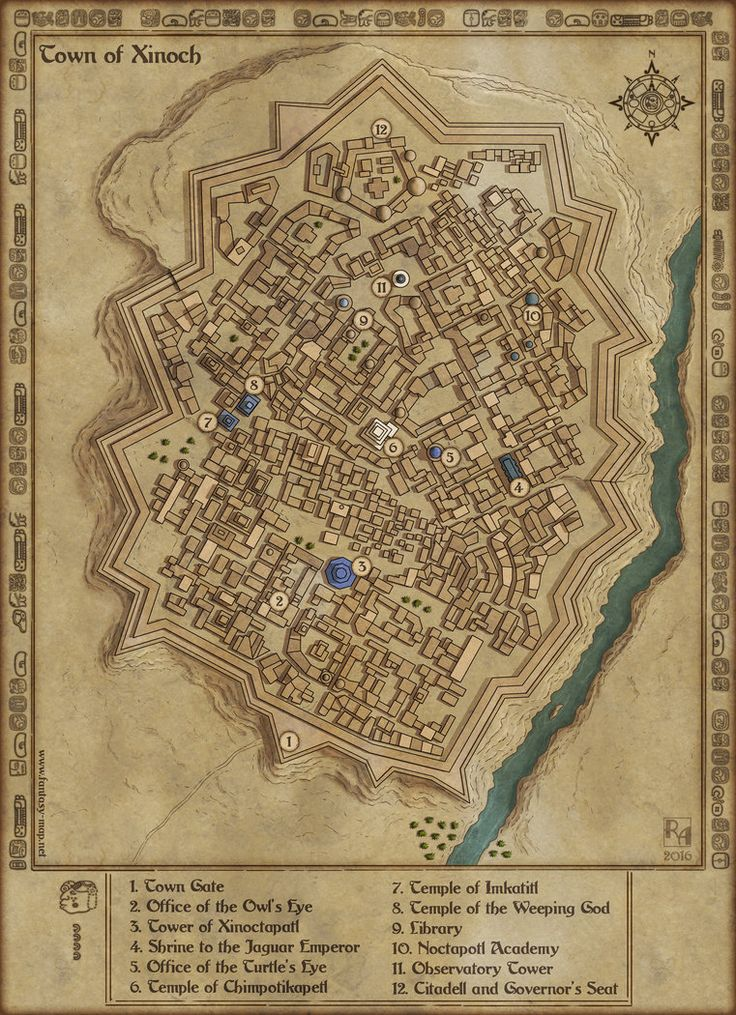Town of Xinoch by Sapientodeviantartcom on DeviantArt