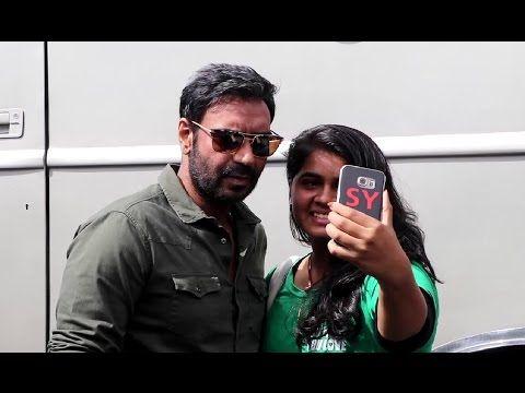 Ajay Devgan spotted on the set of Savdhaan India 2.